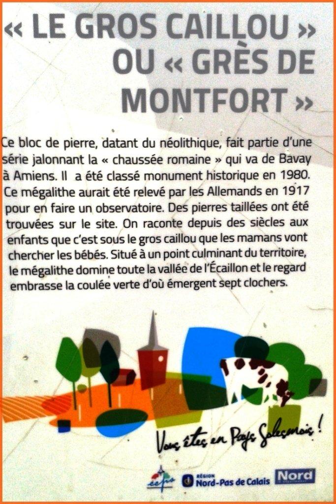 Gros caillou ou grès Monfort