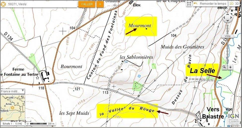 Viesly_Mourmont et Vallée du Rouge