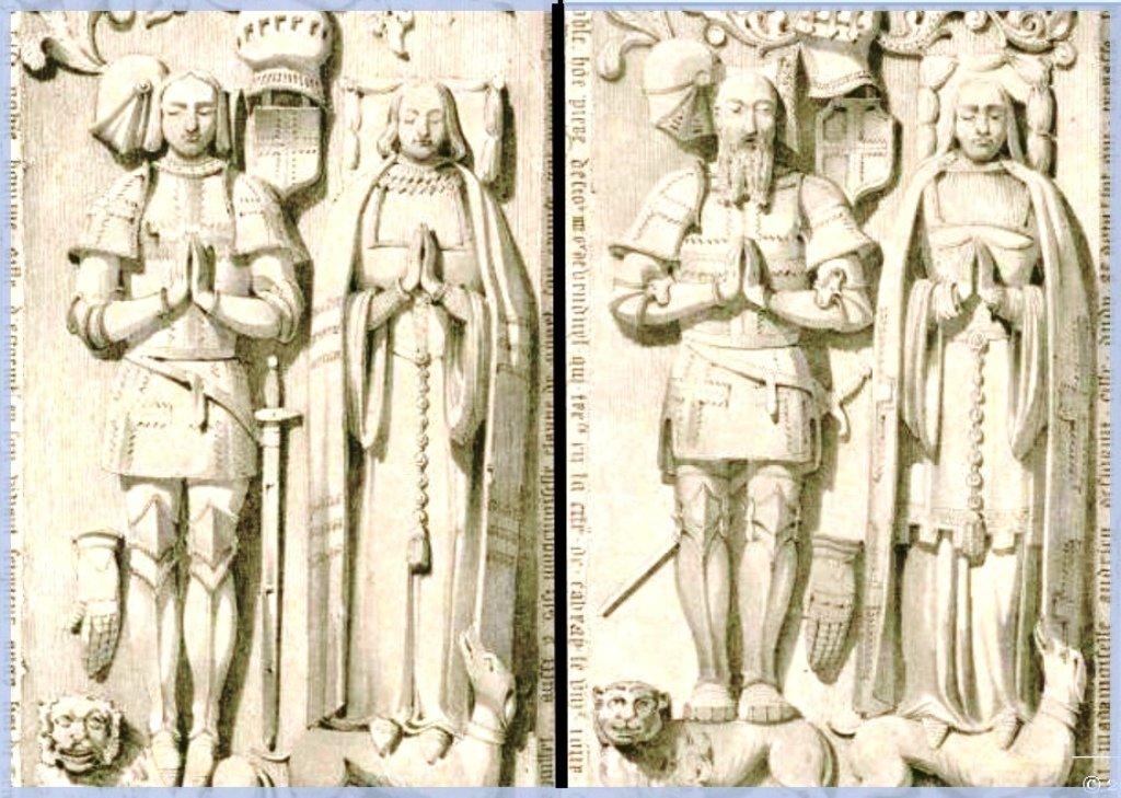 Gisants Gilles et Pierre d' Estourmel