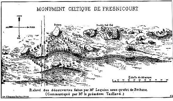 Fresnicourt le Dolmen Carte