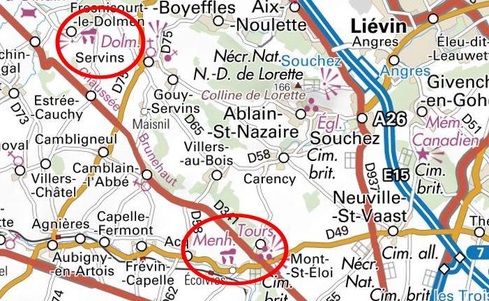Mégalithe de l'Artois