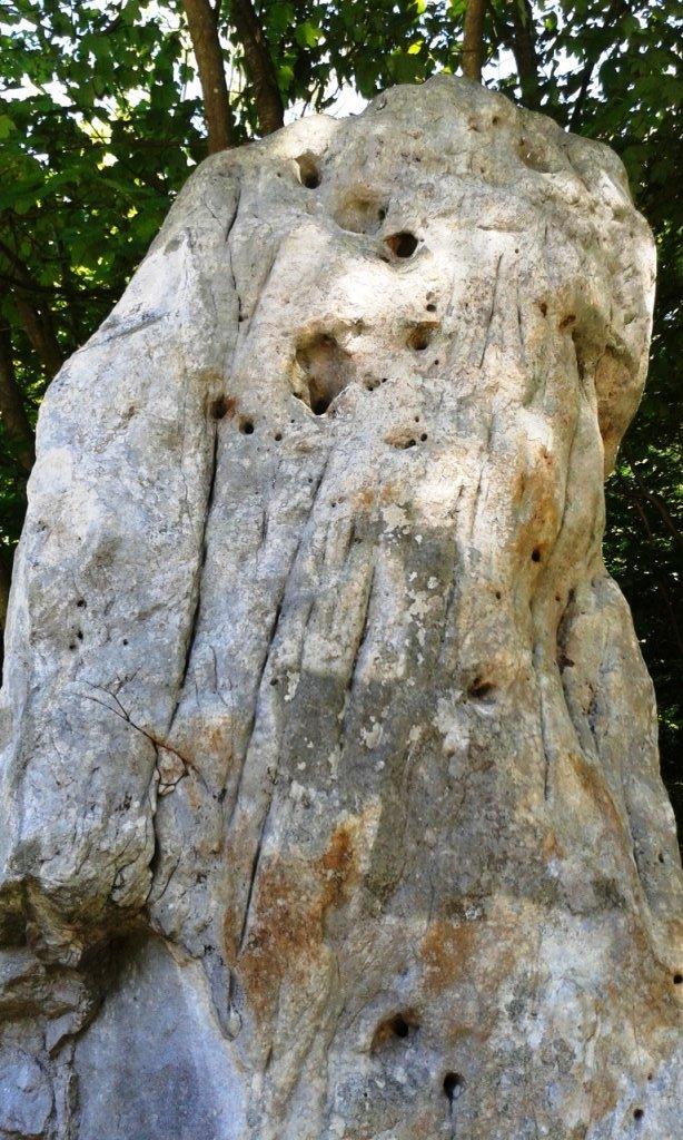 Polissoir de la pierre qui tourne